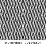vector seamless pattern. modern ... | Shutterstock .eps vector #701646604