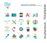 graphic design  creative... | Shutterstock .eps vector #701656444