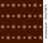 mayan fabric  geometric... | Shutterstock .eps vector #701670871