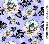 floral seamless pattern | Shutterstock .eps vector #70167646