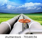 gas pipe line and valve that... | Shutterstock . vector #70168156