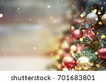 christmas background | Shutterstock . vector #701683801