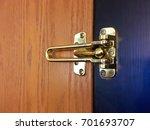 security latch swing door lock   Shutterstock . vector #701693707