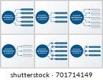 modern infographics paper... | Shutterstock .eps vector #701714149