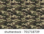 camouflage seamless pattern... | Shutterstock .eps vector #701718739