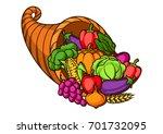 harvest illustration .autumn...