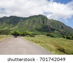 view of the ko'olau mountains... | Shutterstock . vector #701742049