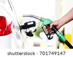 refueling car at the refuel... | Shutterstock . vector #701749147