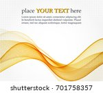 abstract color waves | Shutterstock .eps vector #701758357