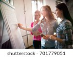 portrait of architects... | Shutterstock . vector #701779051