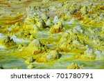 dallol volcano ethiopia danakil ... | Shutterstock . vector #701780791