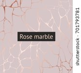 rose marble. vector decorative... | Shutterstock .eps vector #701793781