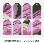 hand drawn creative tags.... | Shutterstock .eps vector #701798155