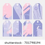 hand drawn creative tags.... | Shutterstock .eps vector #701798194