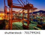 busan  south korea   jan 21 ... | Shutterstock . vector #701799241