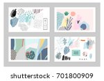 collection of creative... | Shutterstock .eps vector #701800909