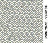 seamless pattern of rhombuses.... | Shutterstock .eps vector #701805481