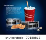 Soda  Filmstrip And Tickets