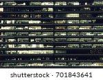 multi storey office building at ... | Shutterstock . vector #701843641