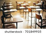 soft and blur focus.row lecture ... | Shutterstock . vector #701849935
