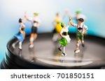 miniature people.bavarian man... | Shutterstock . vector #701850151
