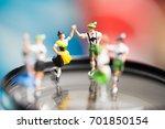 miniature people.bavarian man... | Shutterstock . vector #701850154