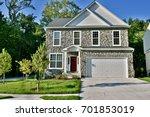 modern single family home   Shutterstock . vector #701853019