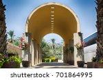 yardenit  israel the entrance... | Shutterstock . vector #701864995