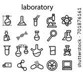 laboratory   Shutterstock .eps vector #701876161