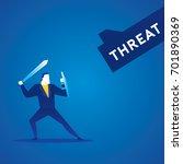 business concept illustration... | Shutterstock .eps vector #701890369