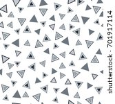repeating triangle vector... | Shutterstock .eps vector #701917114