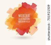 vector blue yellow brush... | Shutterstock .eps vector #701921509