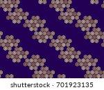 beautiful japanese seamless ... | Shutterstock .eps vector #701923135