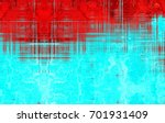 the background is red and... | Shutterstock . vector #701931409