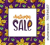 vector seamless pattern with... | Shutterstock .eps vector #701934157