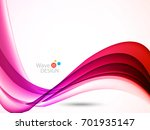 vector waves lines design for...   Shutterstock .eps vector #701935147