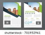 business brochure or flyer... | Shutterstock .eps vector #701952961