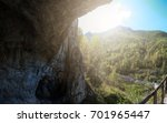 denisova caves is a cave in the ...   Shutterstock . vector #701965447