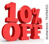 ten percent off. discount 10  . ...   Shutterstock . vector #701966521