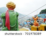gamcheon culture village  busan ... | Shutterstock . vector #701978389