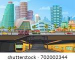 Miami Downtown City Landmarks...