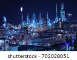 muroran night view   Shutterstock . vector #702028051
