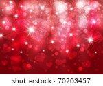 vector beautiful valentine... | Shutterstock .eps vector #70203457