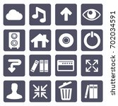 web icon set vector