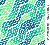 seamless abstract wave pattern... | Shutterstock .eps vector #702045871