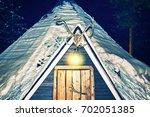 Lappish Traditional House In...