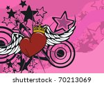 Cartoon Heart Valentine...