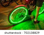 bright neon lights and... | Shutterstock . vector #702138829