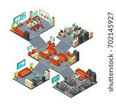 corporate professional 3d...   Shutterstock .eps vector #702145927