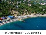 mountains  sea | Shutterstock . vector #702154561